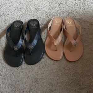 A pair of Vince Camuto sandals size 8